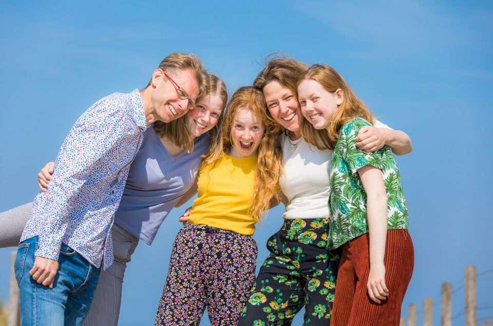 Gezinsfoto's / familiefoto / familiefotoshoot
