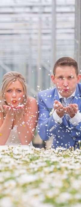 trouwfoto's, bruidsfotografie in het westland