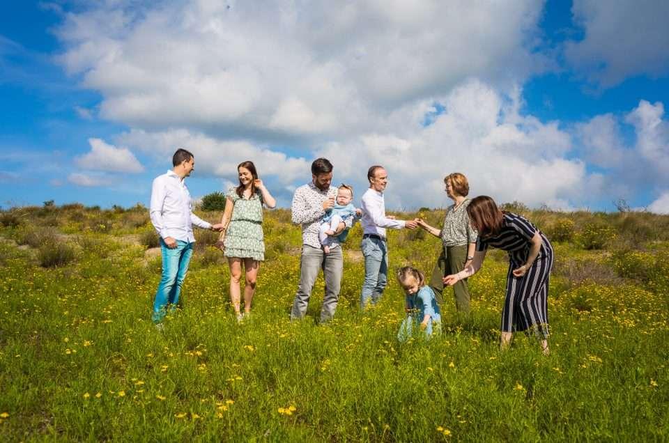Familiefotoshoot / Gezinsfoto's  Hoek van Holland fotoreportage
