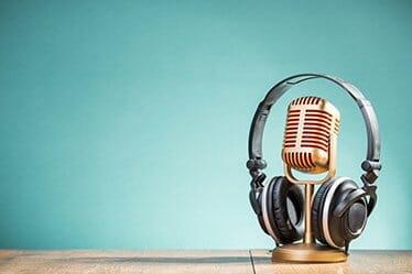 radio interview fotografie